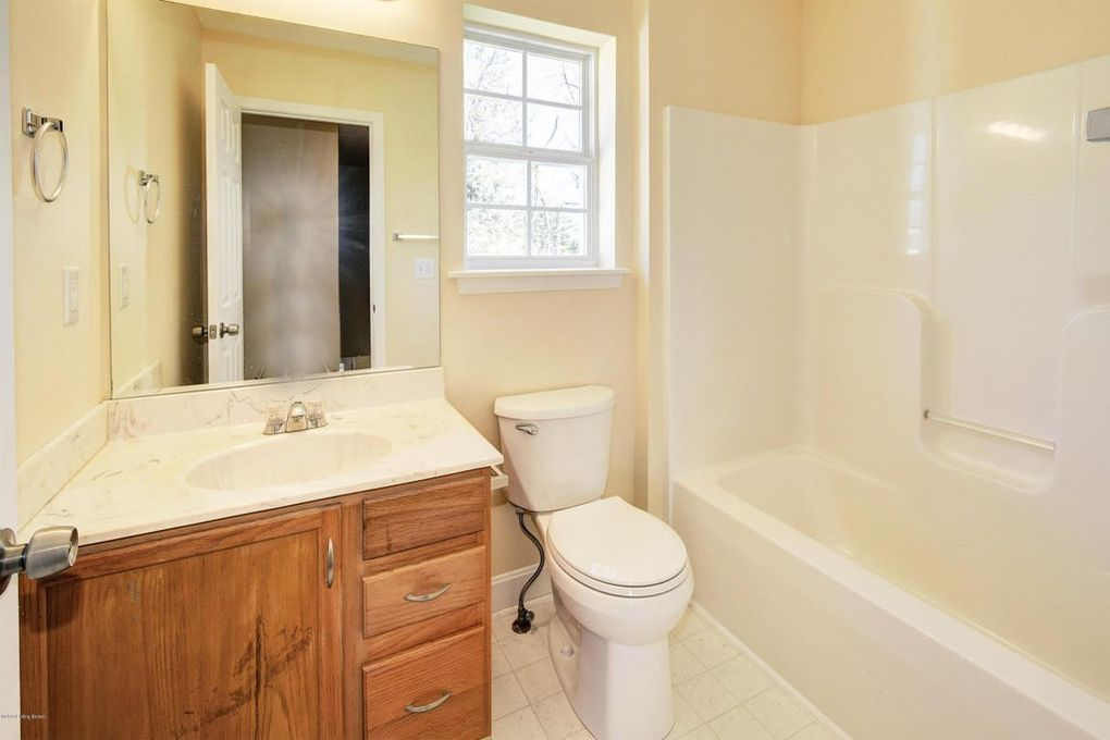 Remodeled bathroom with marble sink